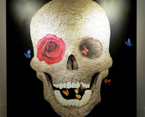 Arts et collections Skull, Original Creation, Heavy Texture