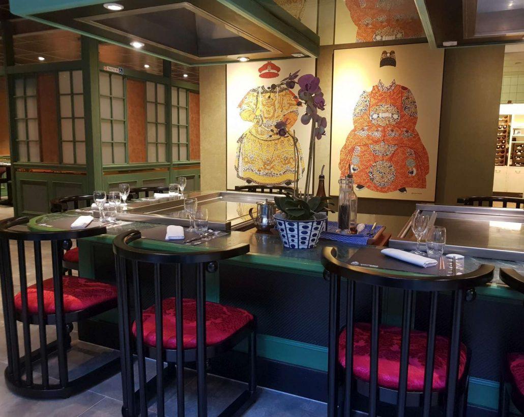 Restaurant, Jardin d'Asie, Lausanne